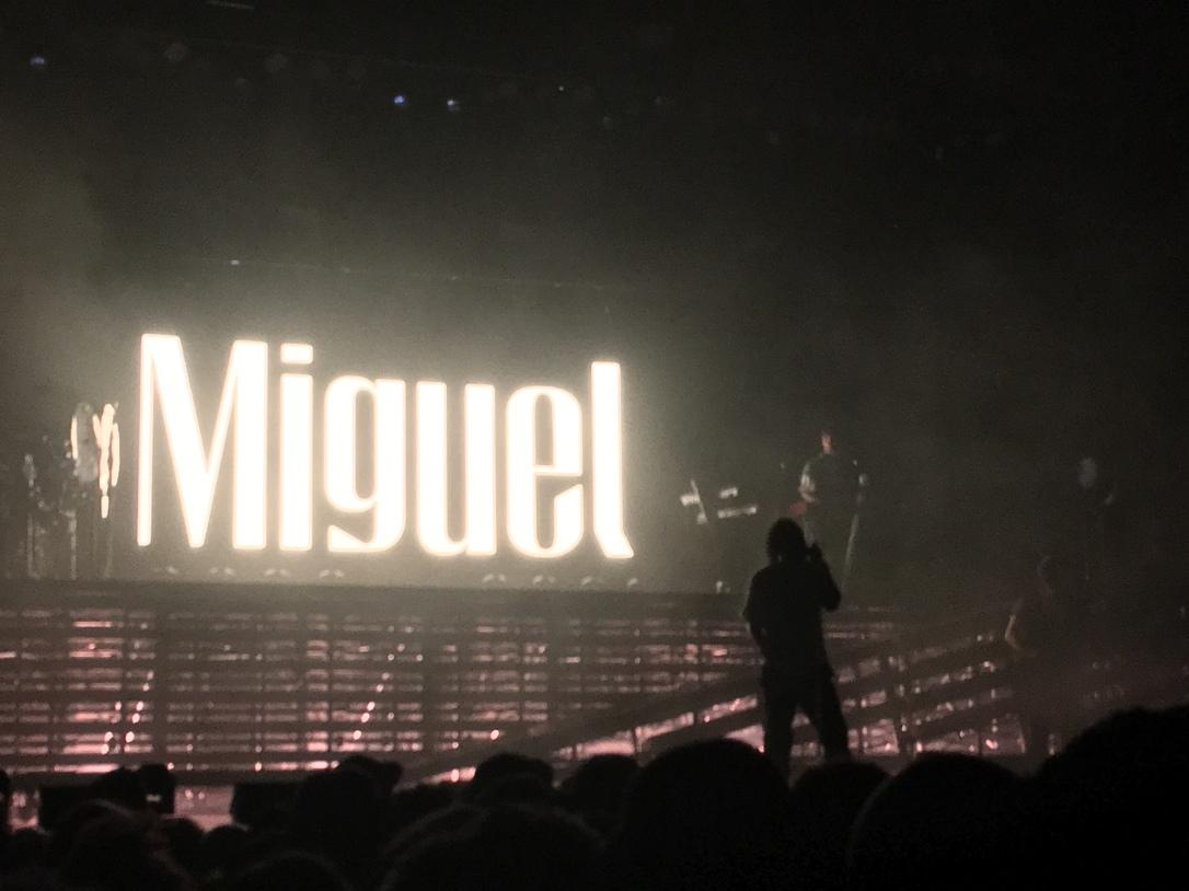 Miguel concert Shep